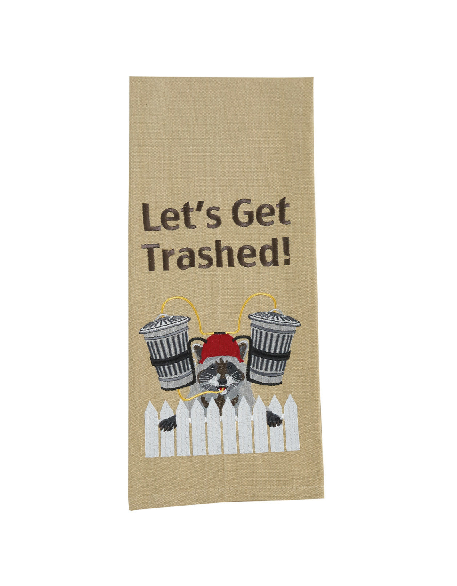 Park Designs LET'S GET TRASHED KITCHEN TOWEL