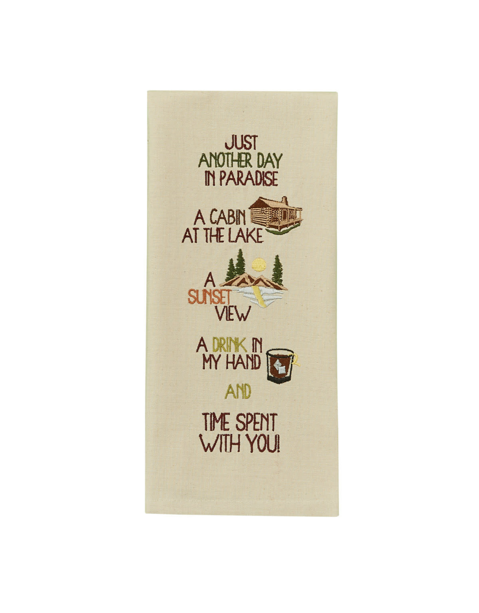Park Designs ANOTHER DAY IN PARADISE KITCHEN TOWEL
