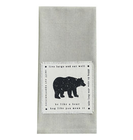 Park Designs BE LIKE A BEAR KITCHEN TOWEL