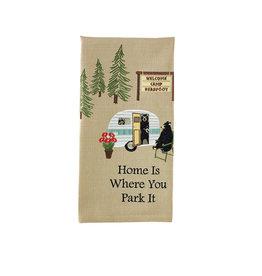 Park Designs WHERE YOU PARK IT KITCHEN TOWEL