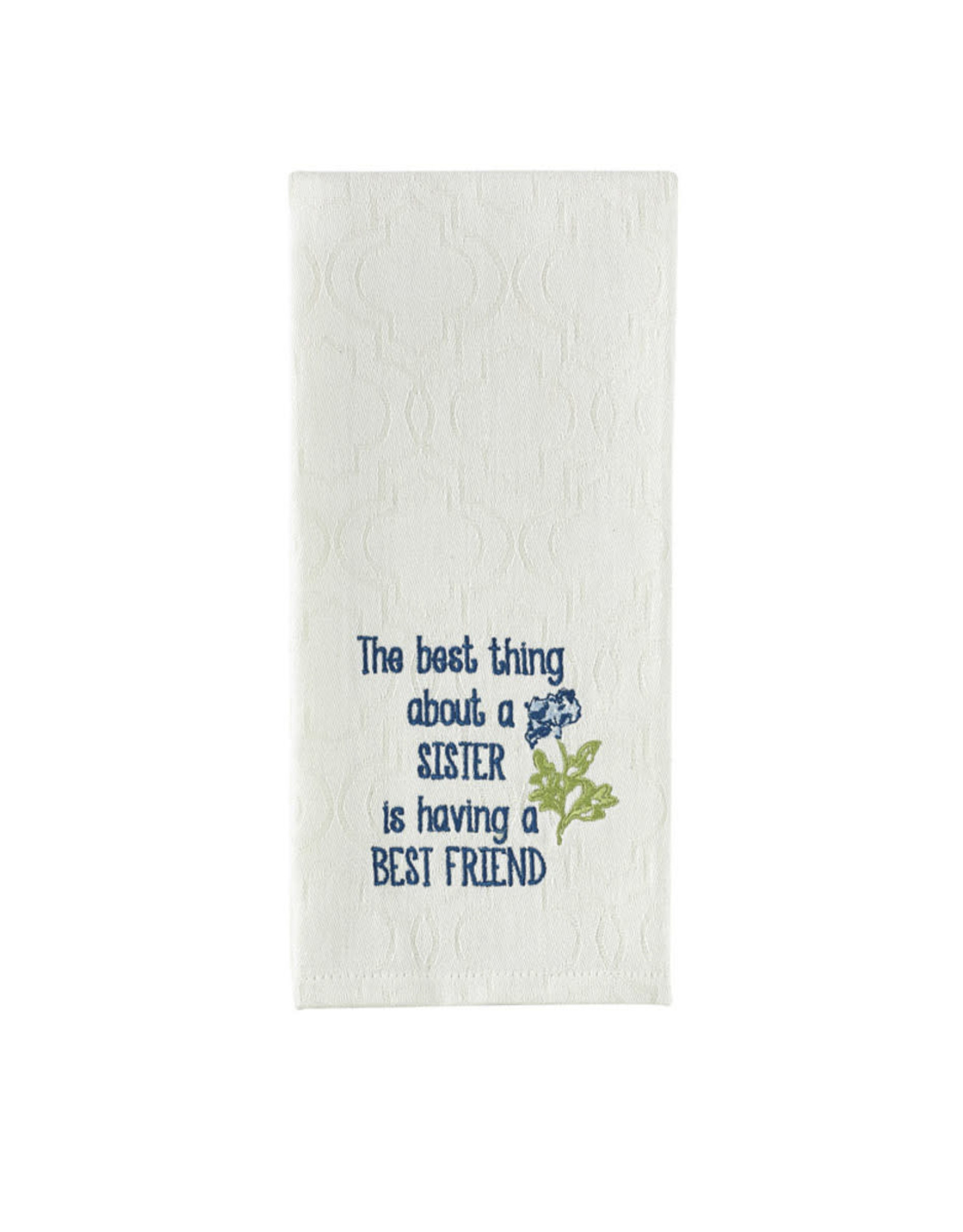 Park Designs BEST THING ABOUT A SISTER KITCHEN TOWEL