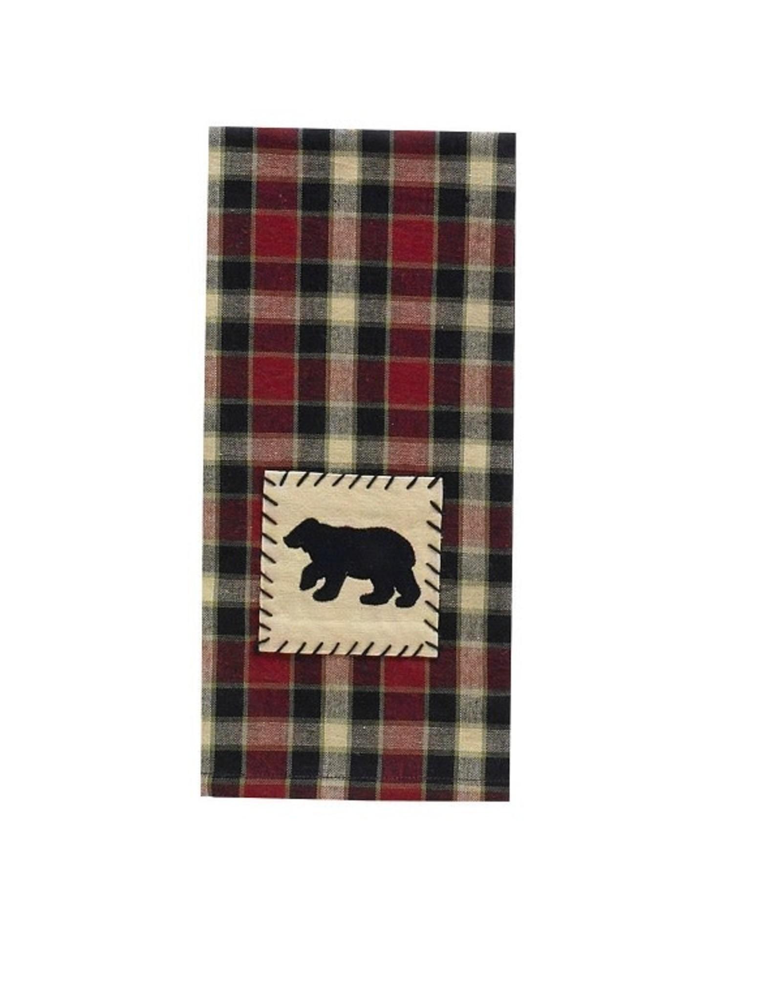 Park Designs CONCORD BEAR KITCHEN TOWEL
