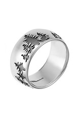 Boma TREES OXIDIZE RING SILVER