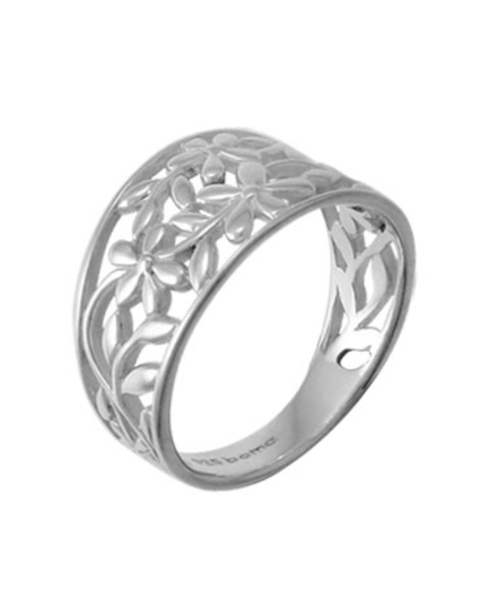 Boma FLOWER CUTOUT RING SILVER