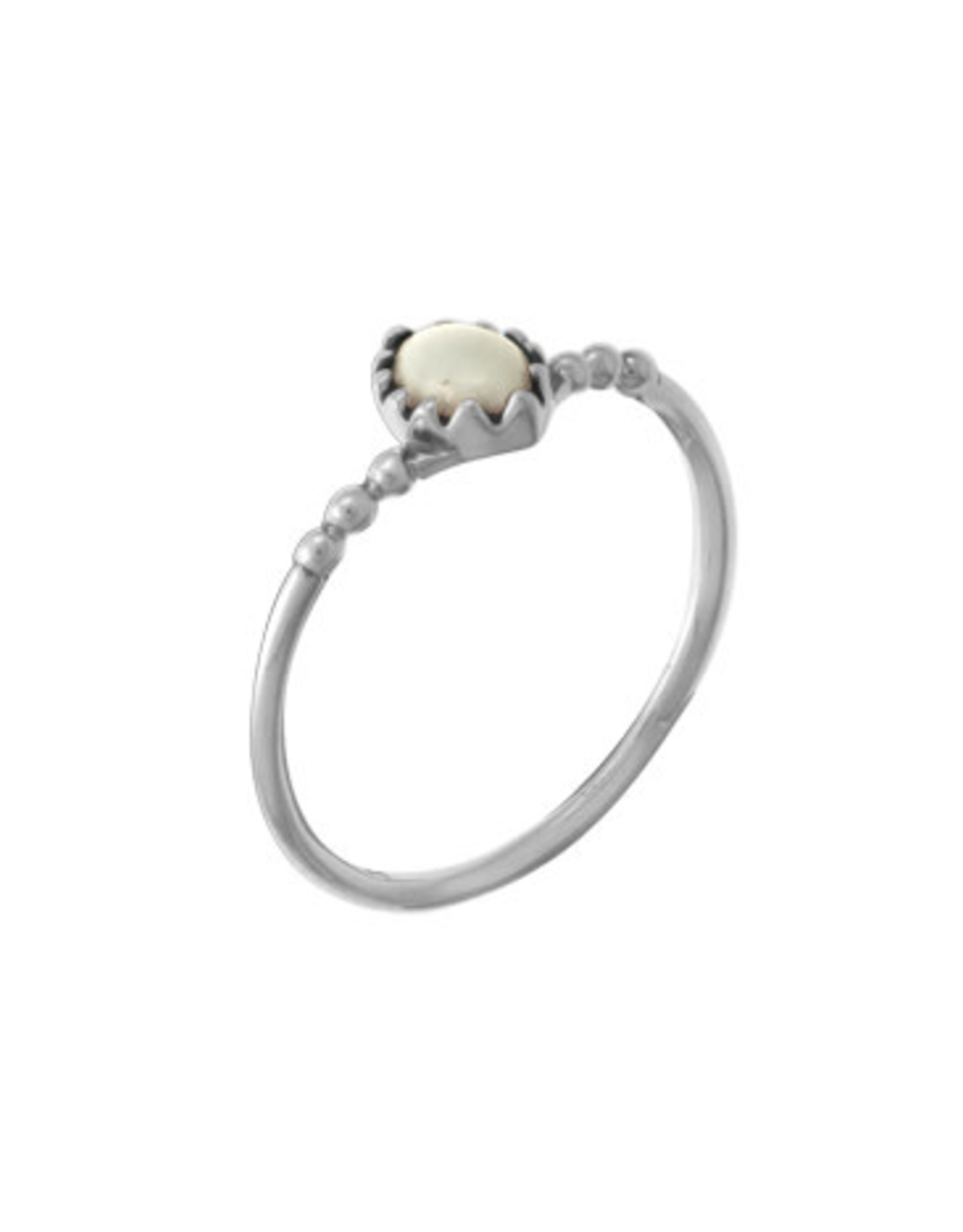 Boma ROUND MOTHER OF PEARL RING