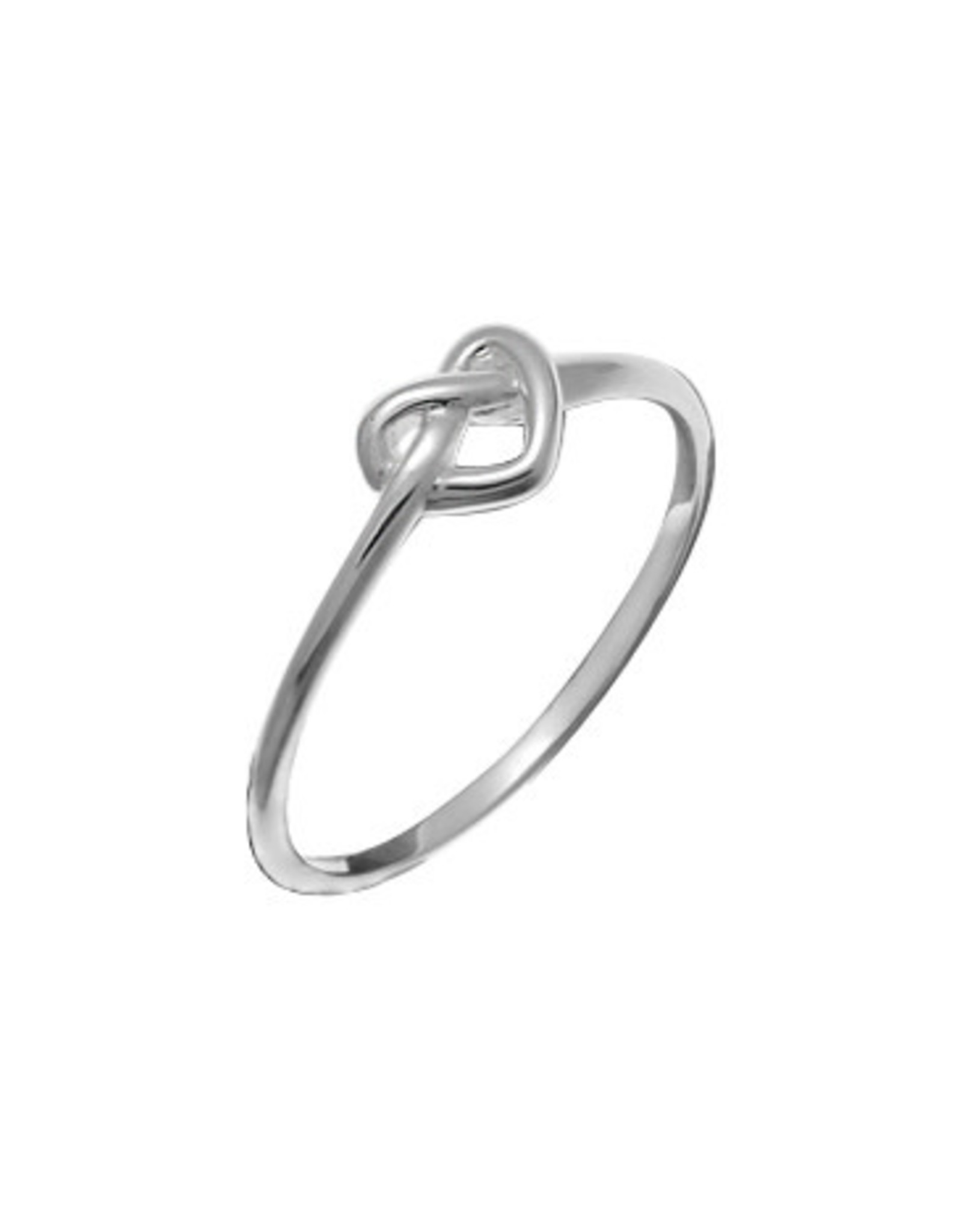 Boma HEART KNOT RING SILVER