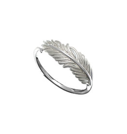 Boma FEATHER RING SILVER