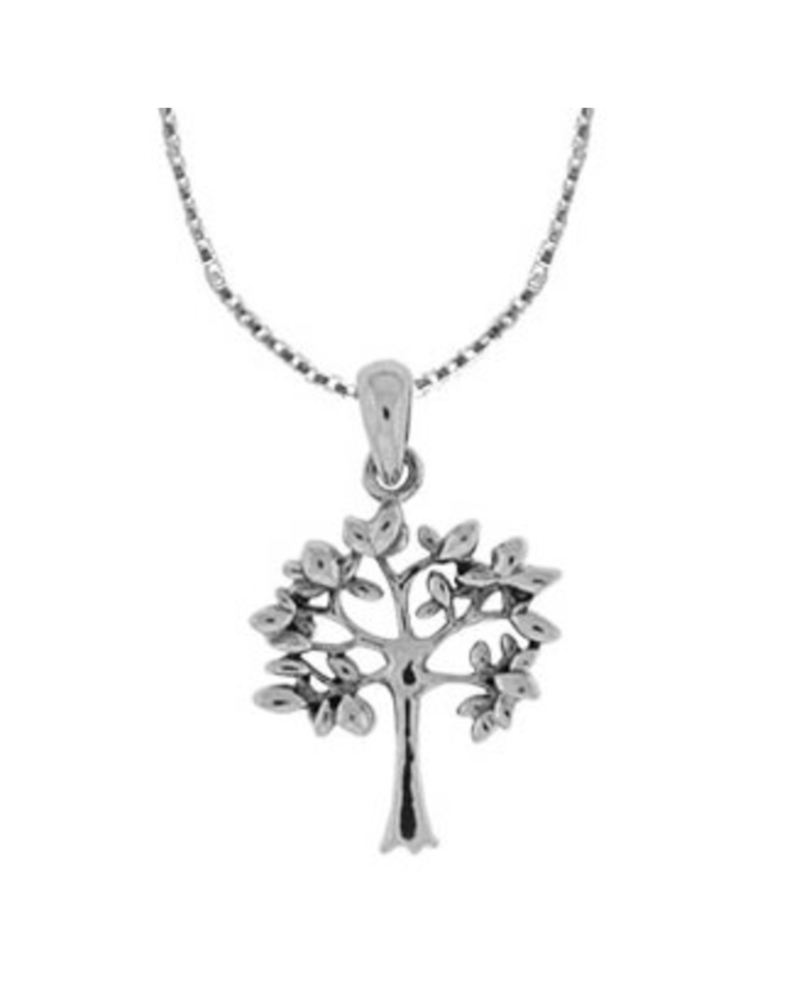 """Boma TREE NECKLACE 18"""" SILVER"""