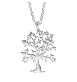 "Boma TREE OF LIFE NECKLACE 18"" SILVER"