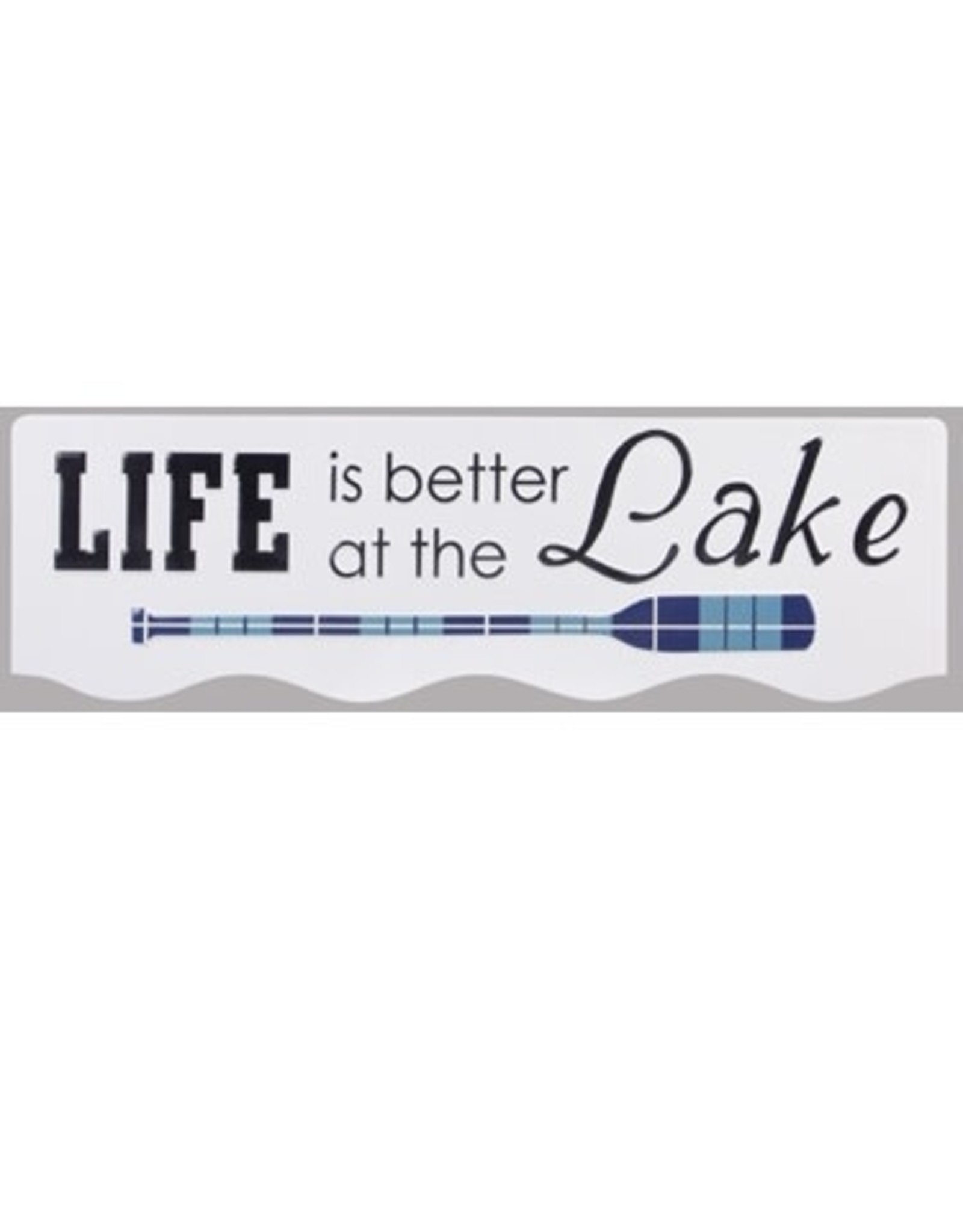 Youngs PUNCHED METAL LAKE WALL SIGN