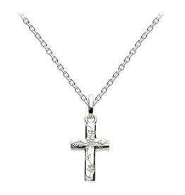 Kit Heath ENGRAVED CROSS NECKLACE