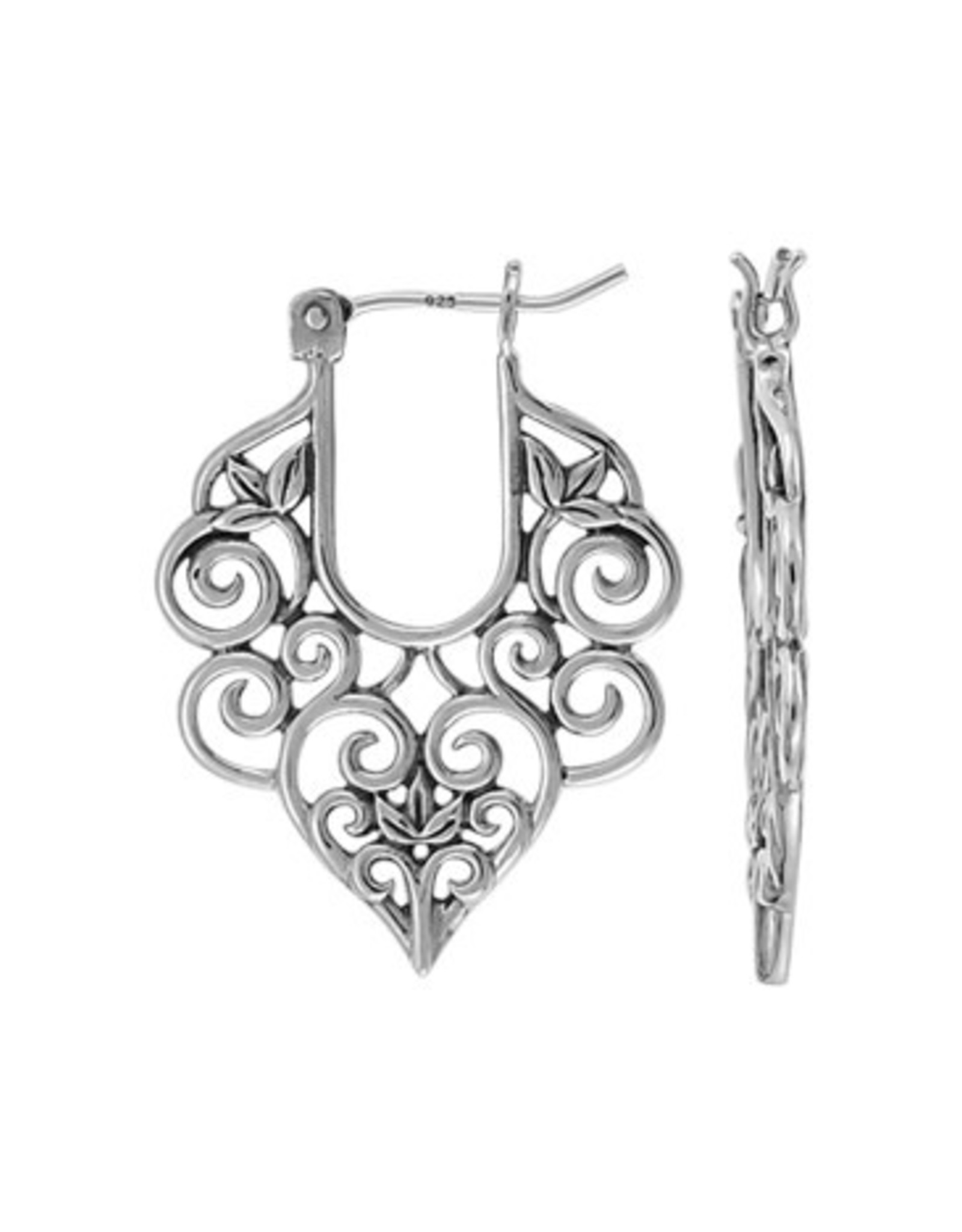 Boma FILIGREE EARRING SILVER