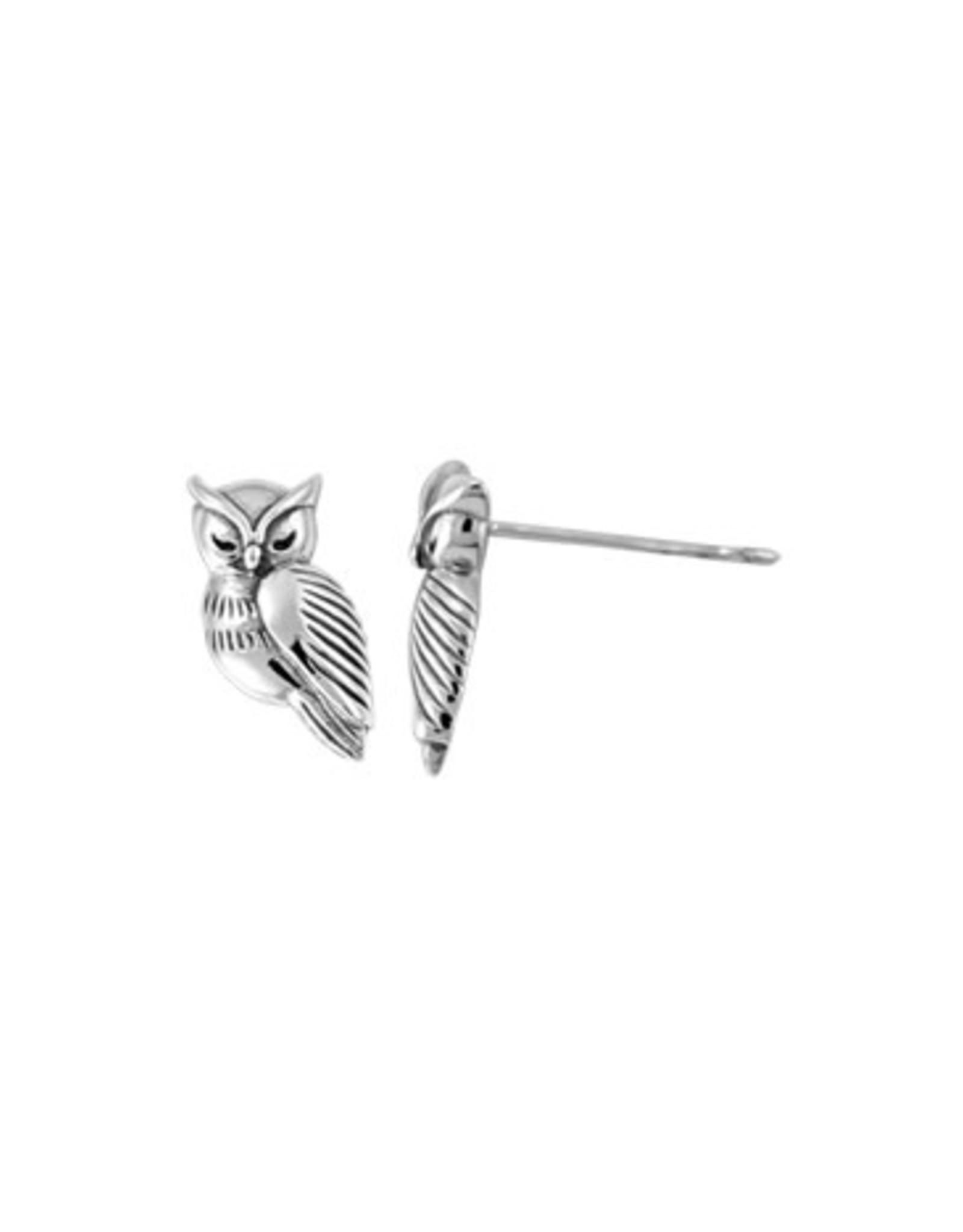 Boma OWL STUD EARRING