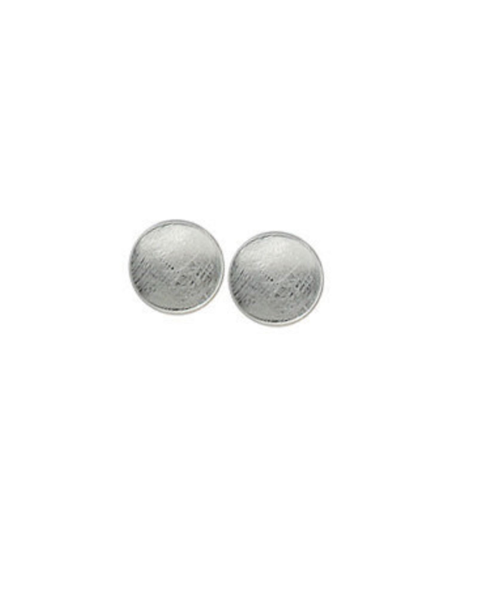 Boma ROUND STUD EARRING ICE SILVER