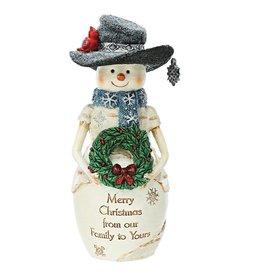 Pavilion Gift CHRISTMAS FAMILY SNOWMAN