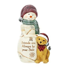 Pavilion Gift FRIENDS BY YOUR SIDE SNOWMAN