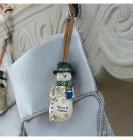 Pavilion Gift RETIREMENT SNOWMAN ORNAMENT