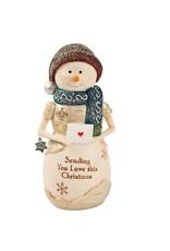 Pavilion Gift SENDING LOVE SNOWMAN