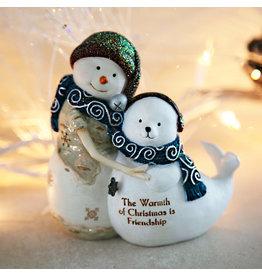 Pavilion Gift FRIENDSHIP SNOWMAN