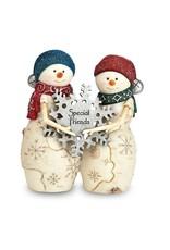 Pavilion Gift SPECIAL FRIENDS SNOWMAN