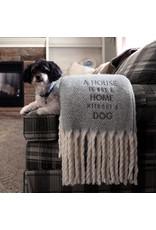 Pavilion Gift DOG HERRINGBONE 50X60 BLANKET