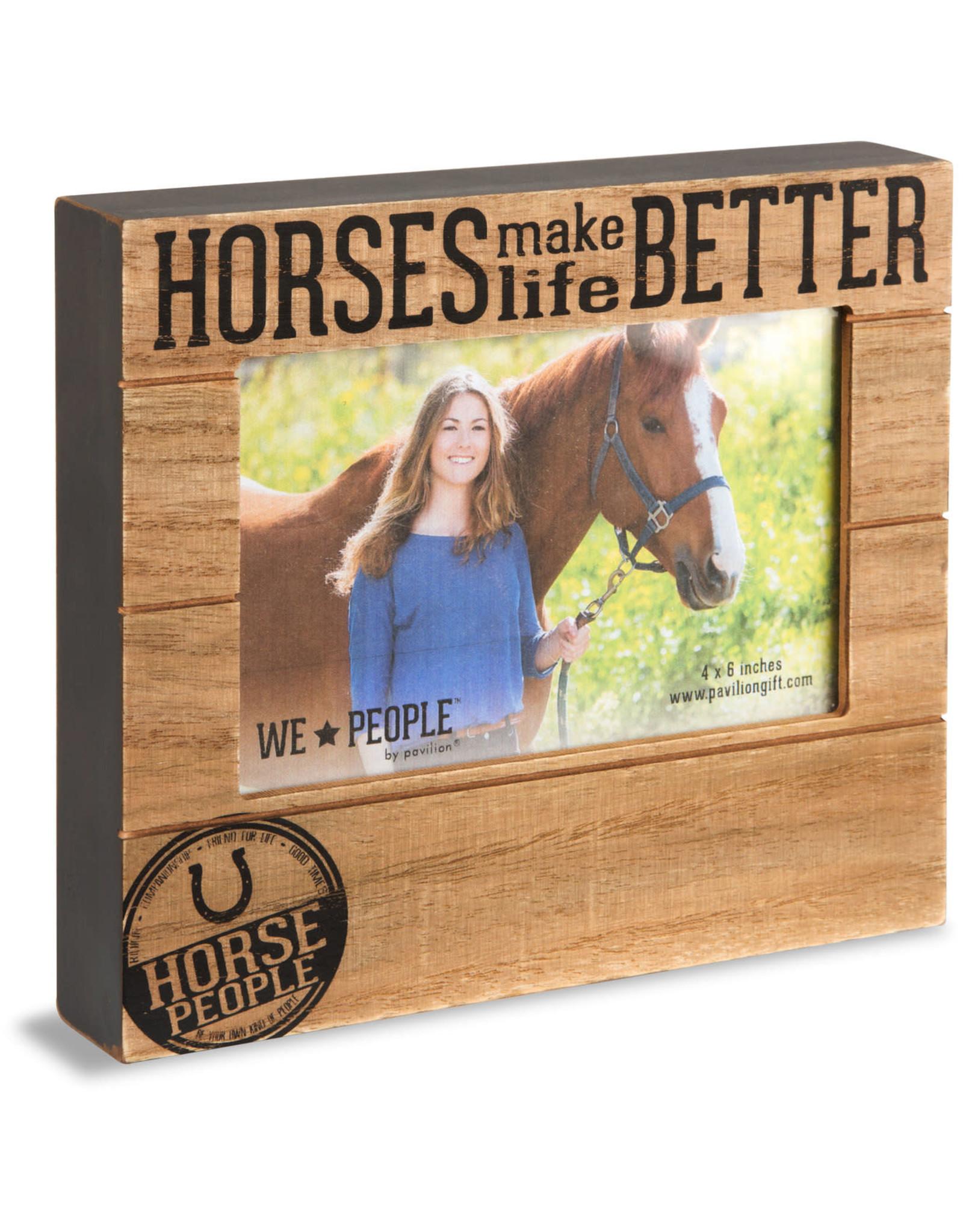 Pavilion Gift HORSE PEOPLE FRAME