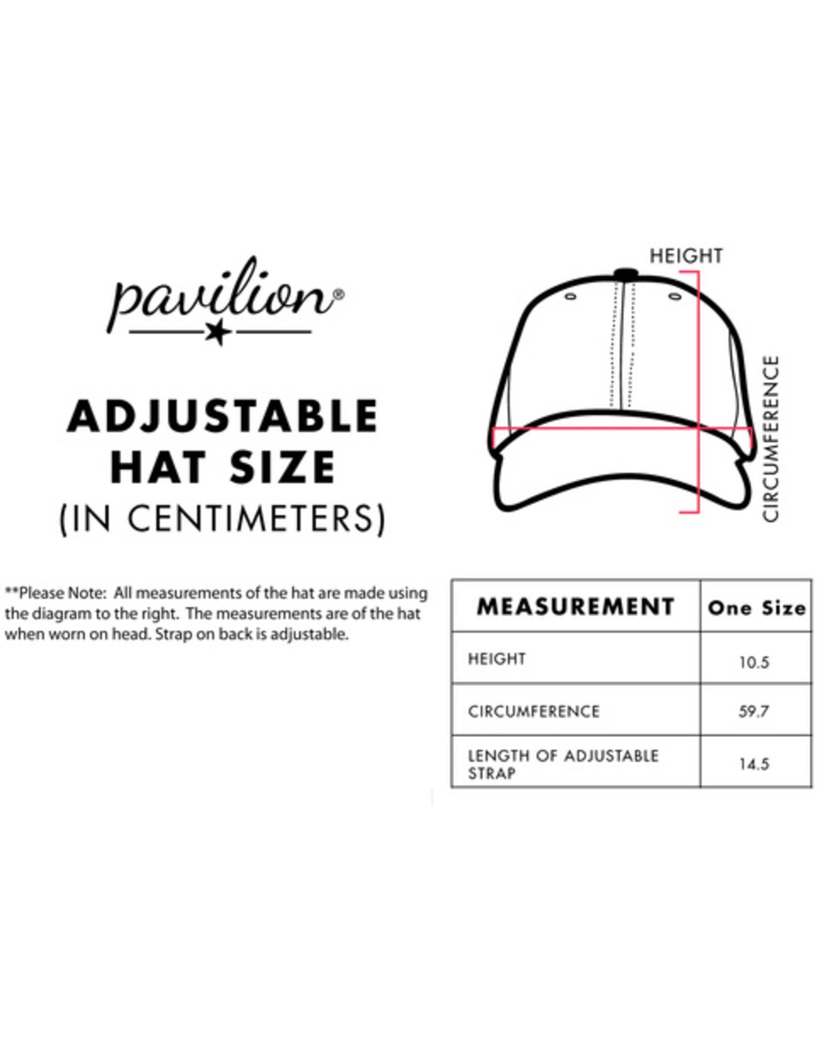Pavilion Gift LIVIN THE BOAT LIFE WHITE HAT