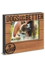 Pavilion Gift DOG PEOPLE FRAME