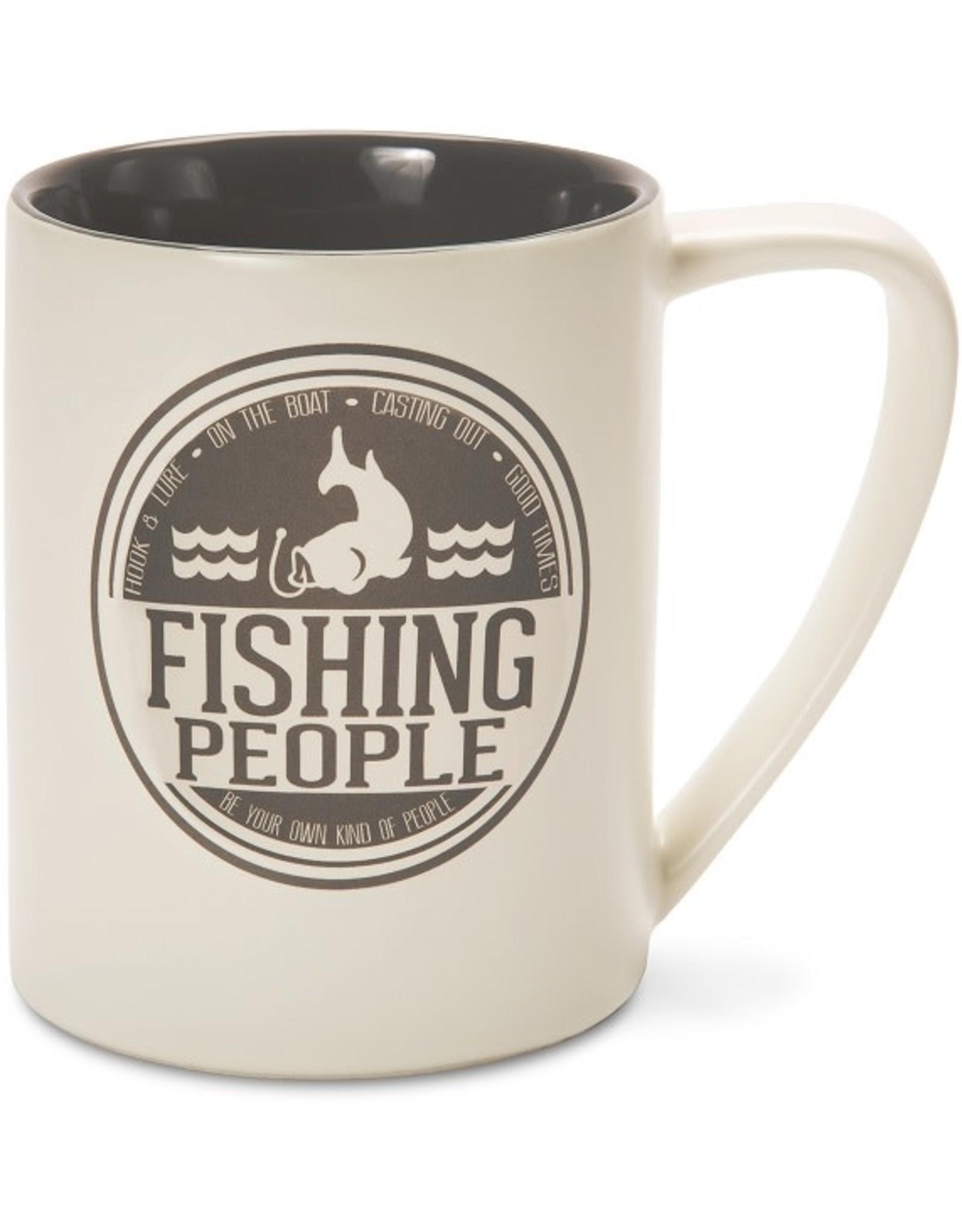 Pavilion Gift FISHING PEOPLE MUG