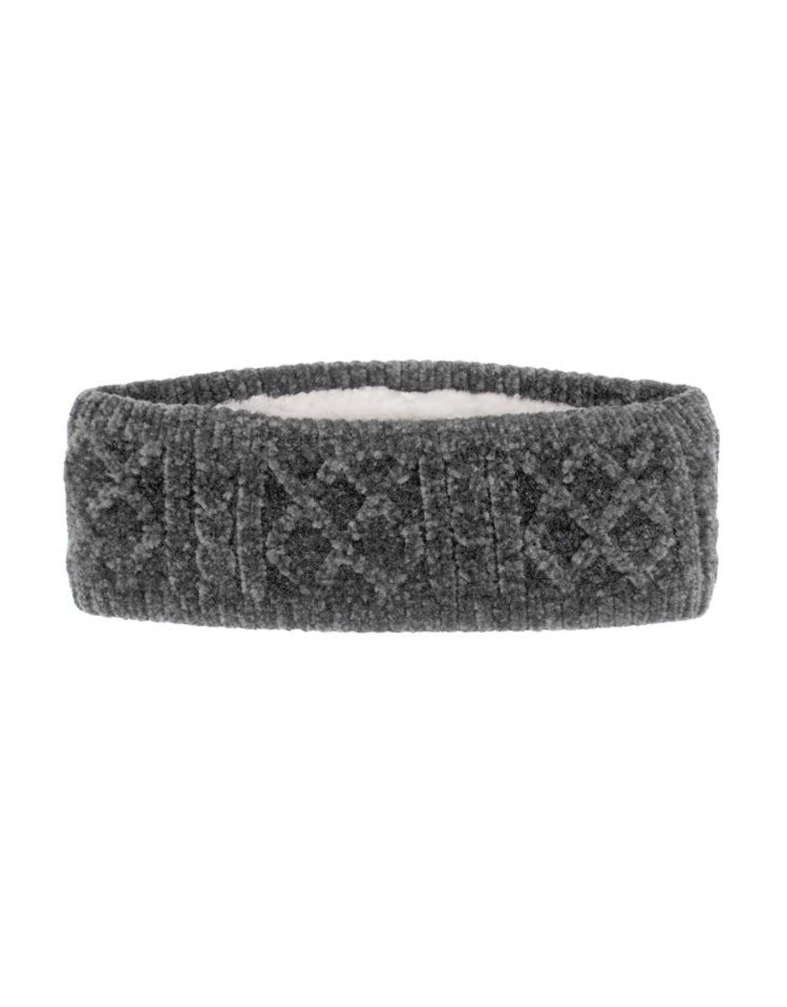 Pudus CABLE KNIT CHENILLE HEADBAND