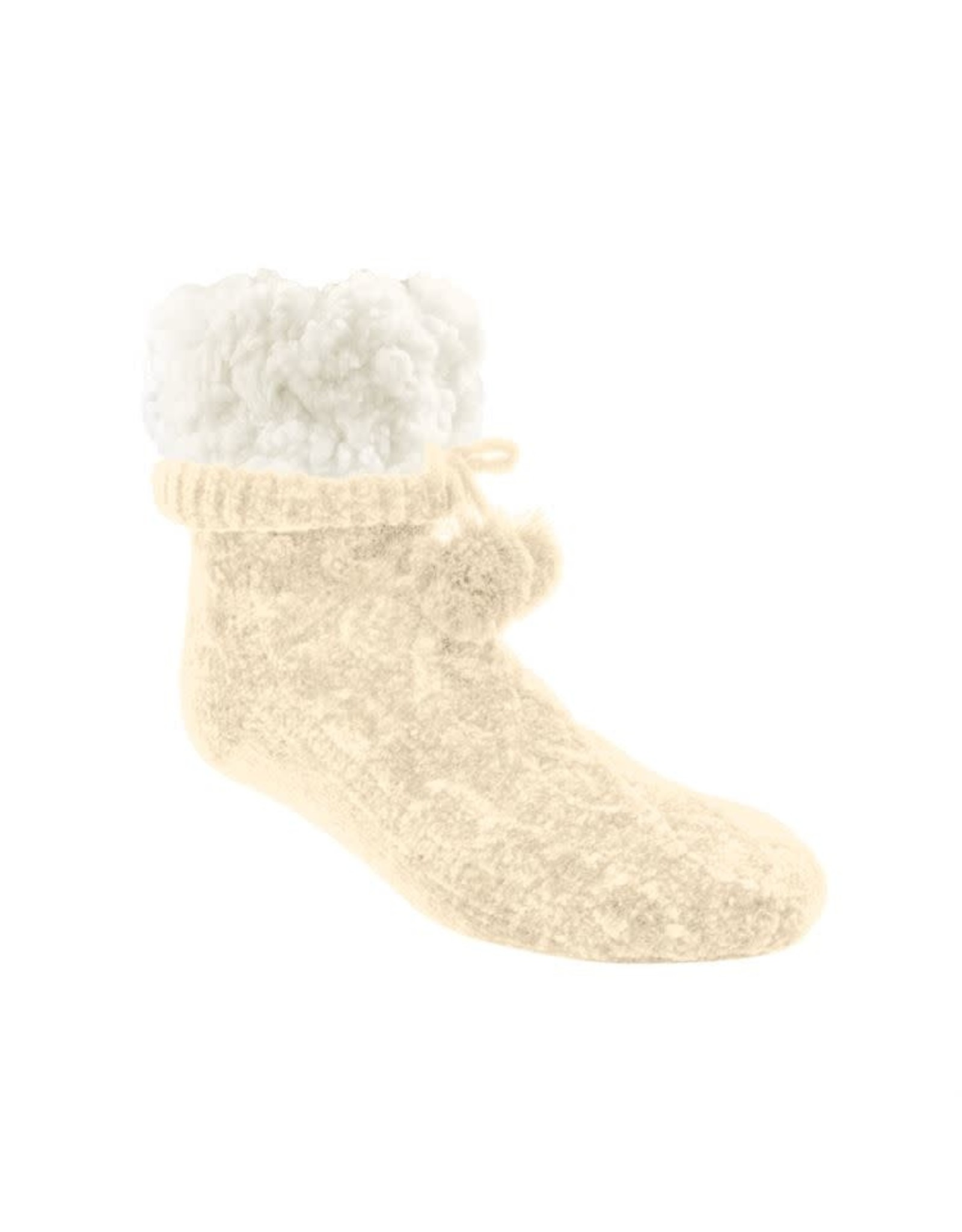 Pudus CABLE KNIT CHENILLE SOX