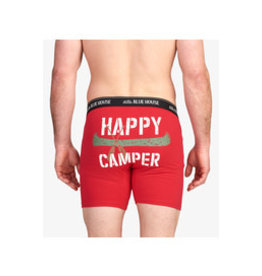 Little Blue House HAPPY CAMPER MEN'S BOXER BRIEF