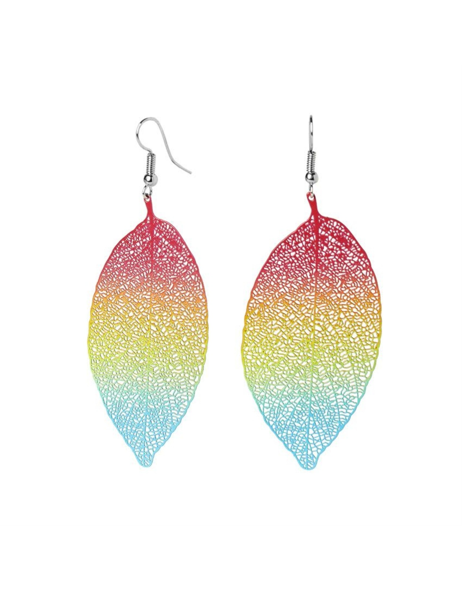 TGB / Good Bead FEATHER DANGLE BRIGHTS EARRINGS