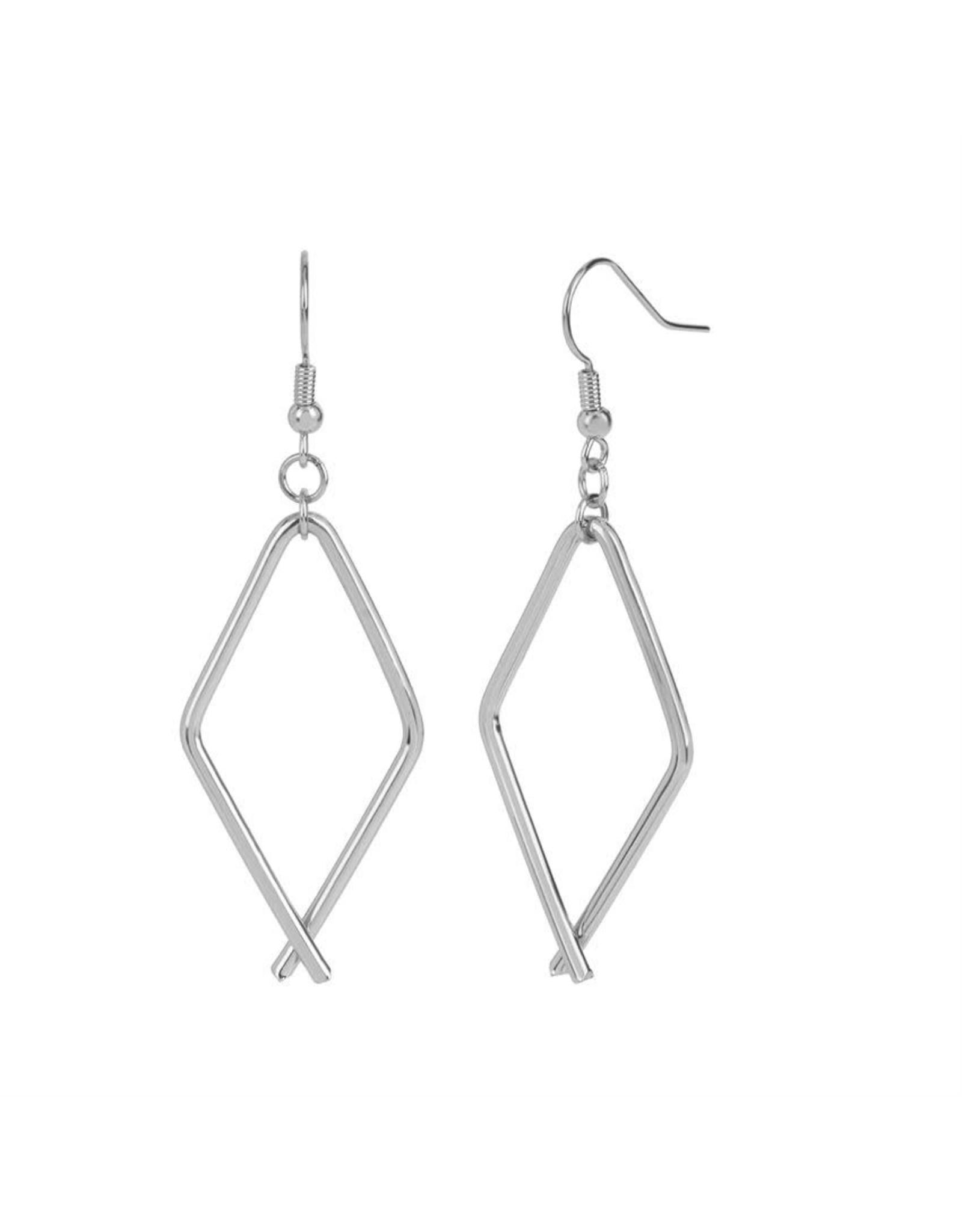 TGB / Good Bead DIAMOND LINK EARRINGS