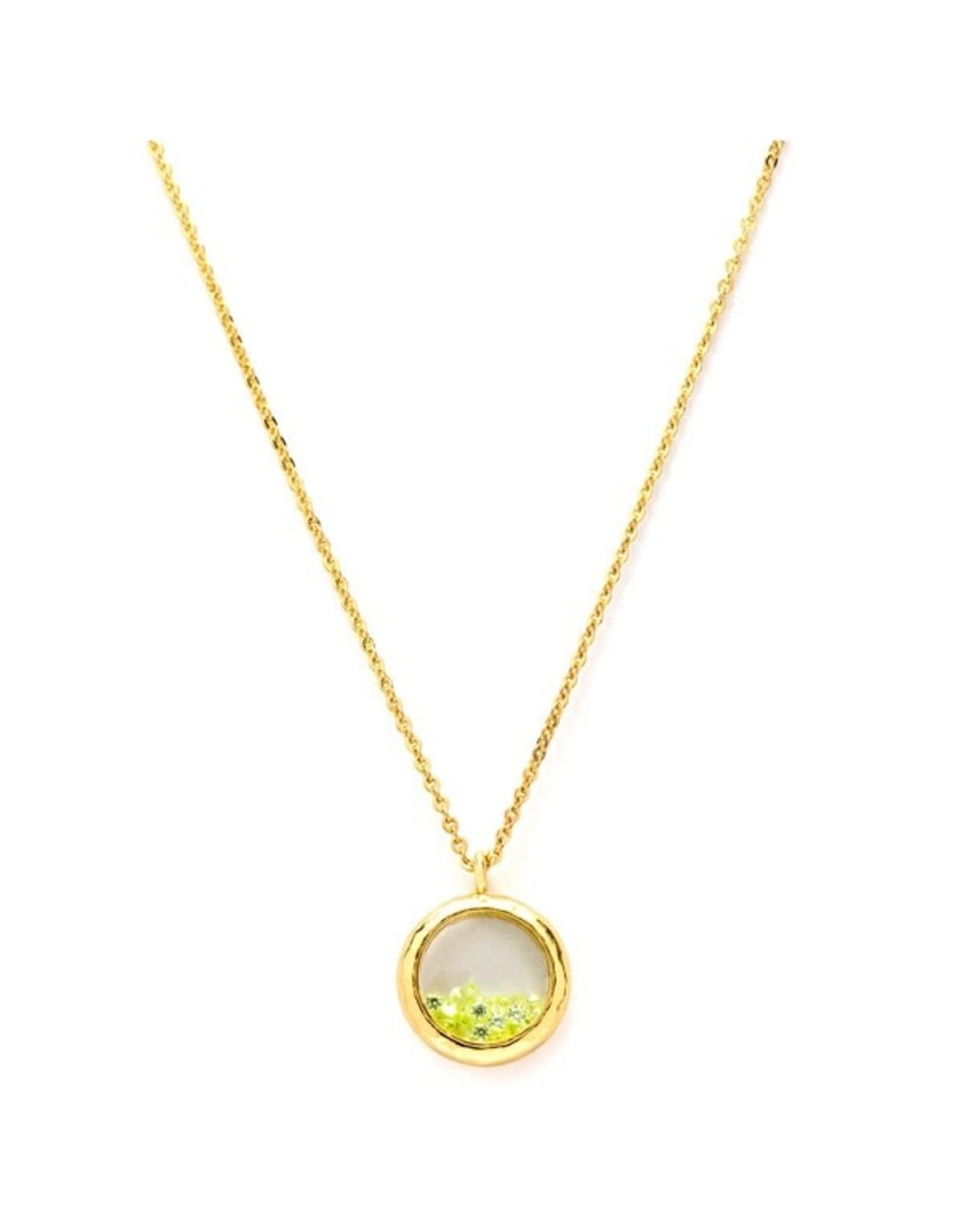 Laura Janelle BIRTHSTONE GOLD NECKLACE