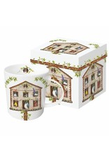 Paper Products Designs HOUSE PARTY MUG IN A GIFT BOX