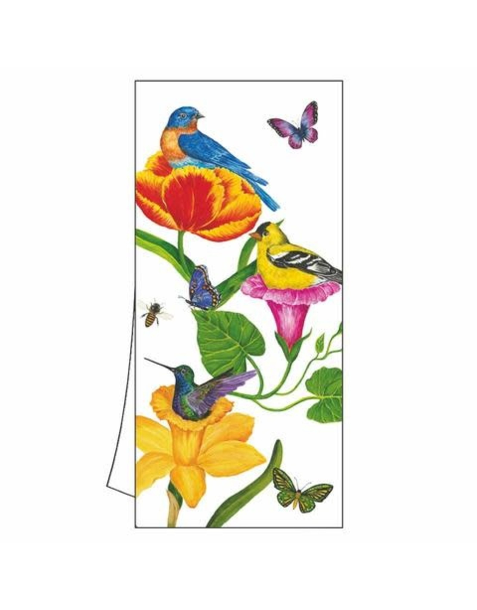 Paper Products Designs GARDEN NESTS KITCHEN TOWEL