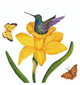Paper Products Designs DAFFODIL NEST LUNCH NAPKIN