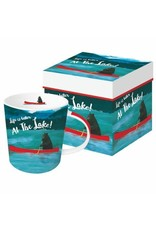 Paper Products Designs BEAR'S LAKE MUG IN A GIFT BOX