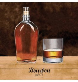 Paper Products Designs BOURBON BEVERAGE NAPKIN