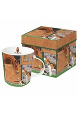 Paper Products Designs HORSE HOUNDS MUG IN A BOX