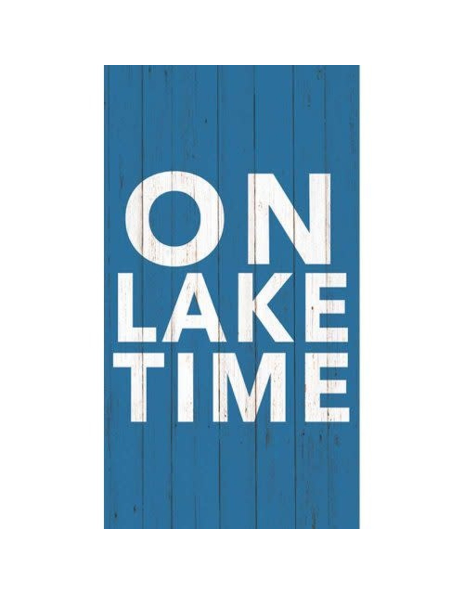 Paper Products Designs ON LAKE TIME GUEST TOWEL