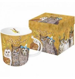 Paper Products Designs OWL FAMILY MUG IN A BOX