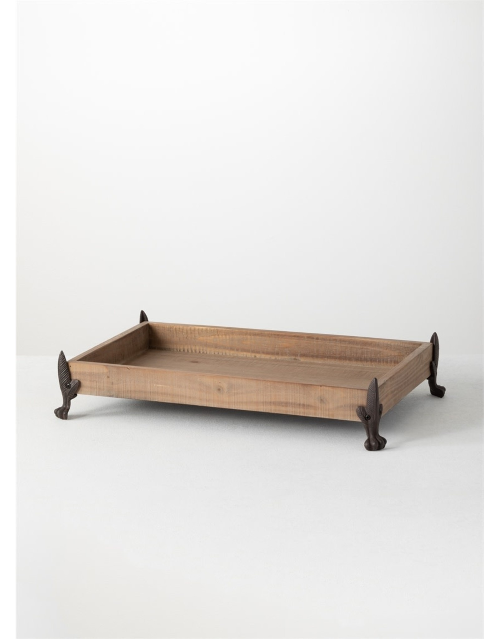 Sullivans FOOTED TRAY NATURAL