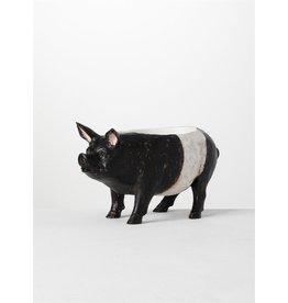 Sullivans PIG PLANTER BLACK AND WHITE