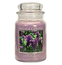 Village Candle SPRING LILAC JAR CANDLE