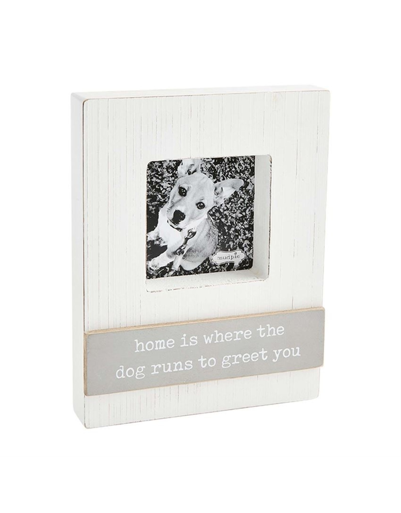 Mud Pie HOME IS WHERE PET BLOCK FRAME