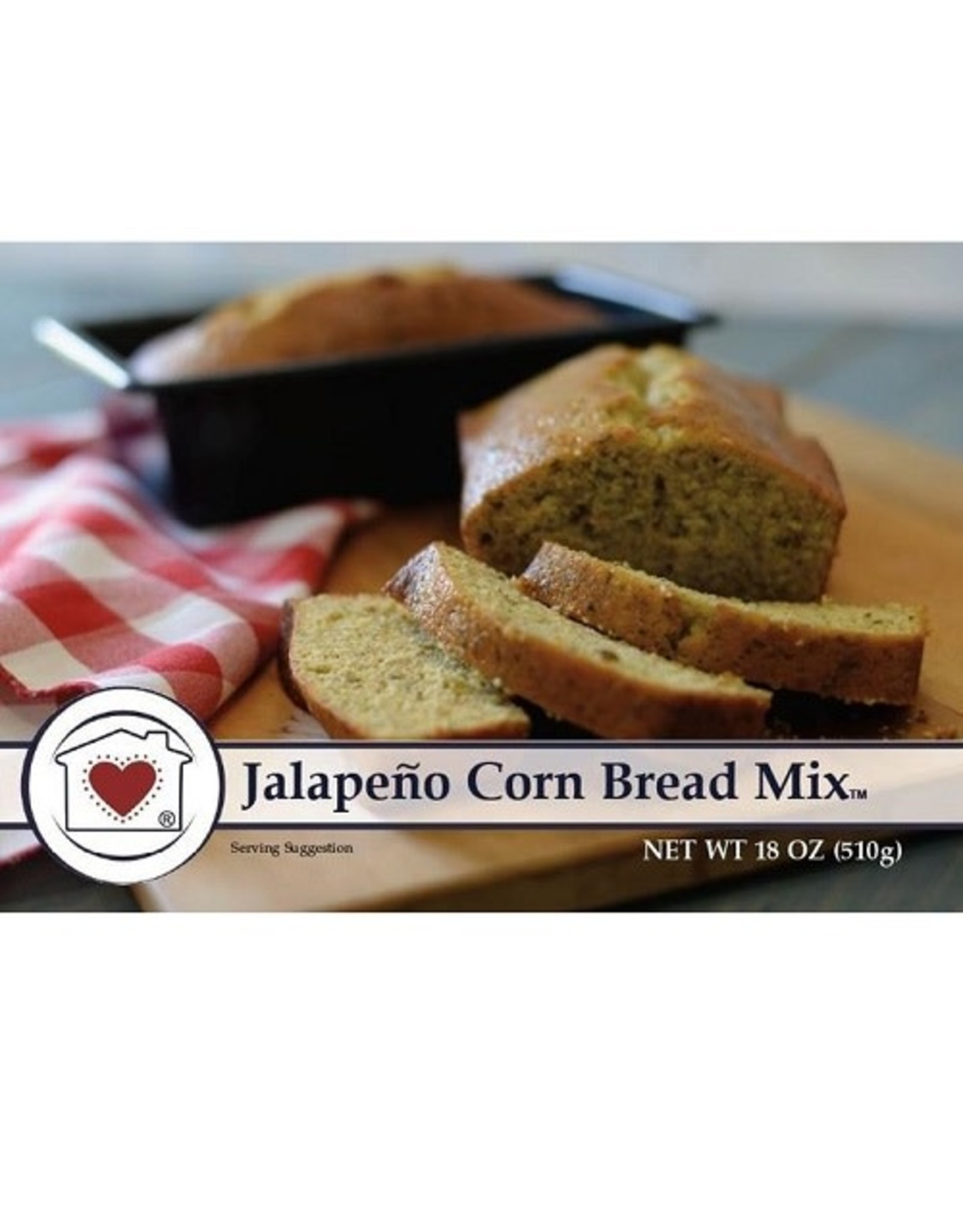 Country Home Creations JALAPENO CORN BREAD MIX