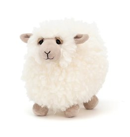 JellyCat ROLBIE CREAM SHEEP