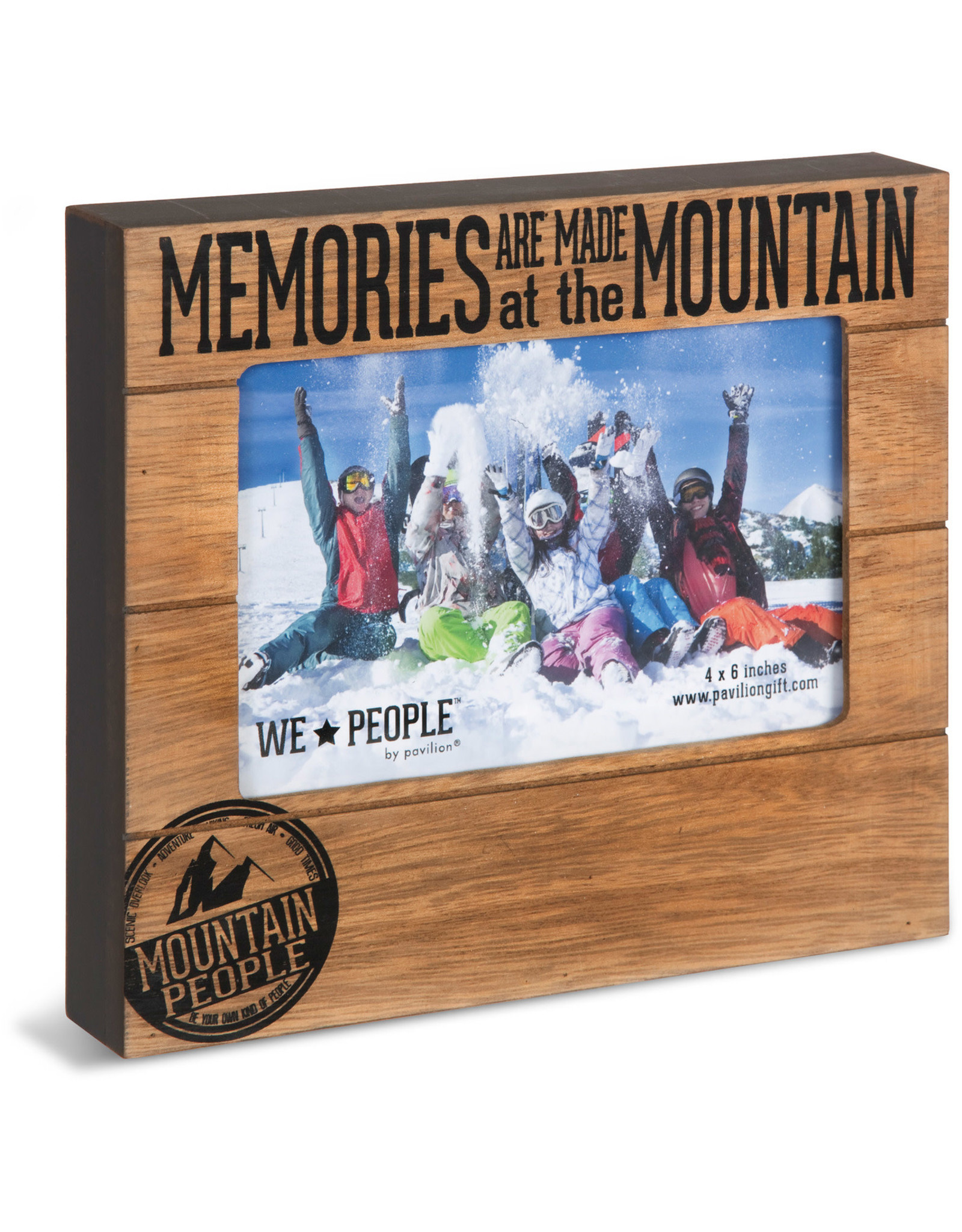 Pavilion Gift MOUNTAIN PEOPLE FRAME